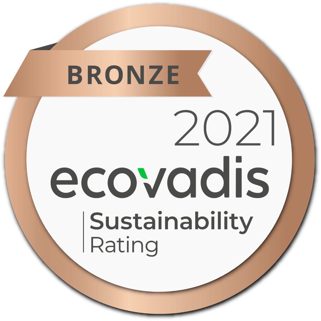 EcoVadis beloont Progress met een medaille!